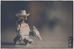 Desk ranger (Priovit70) Tags: lego minifigures space classicspace spacecowboysaturday guns desk olympuspenepl7