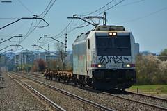 253 (firedmanager) Tags: renfe tren train trena ferrocarril freighttrain bombardiertraxx bombardier locomotora locomotive