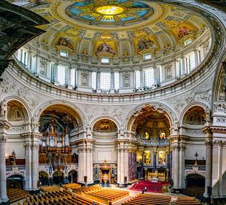 Blick von der Empore in den Berliner Dom