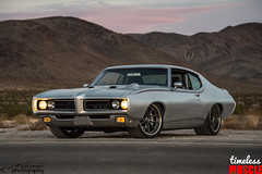 1969 GTO (scott597) Tags: 1969 gto pontiac silver forgeline restomod las vegas