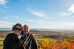 10-18-2016 Blomidin Look Off Margrit & Lesley (ully bleil) Tags: about annapolisvalley bleil canada fall familyfreinds familyfriends group industry novascotia people places playing portrait scenics stock tourism travel â©ullybleil