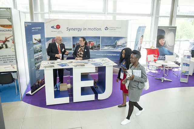 The Leipzig Halle Airport exhibition stand