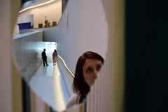 all roads lead to Rome 11/33 (Giorgos Voulgaris) Tags: nikon d5300 color museum maxxi rome people face hole indoors candid architecture art modern