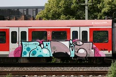 RÄTSEL (rebecca2909) Tags: rätsel graffiti train