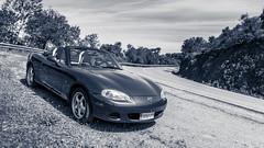 Mazda MX5 NB (iRafaNavarro) Tags: mazda mx5 nb miata azul descapotable roadster topmiata covertible eunos carretera sierra carporn