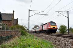 2018-04-27 VTEC 43314 (0952 Aberdeen-London Kings Cross) Cowton (John Carter 1962) Tags: trains rail railways hst class43 125