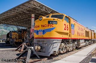 UP X-26   GE 8500 GTEL   Utah State Railroad Museum