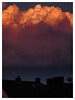 Purgatory Cloud-Staring (Thomas Listl) Tags: thomaslistl color 100mm clouds sky gaze staring fire purgatory sunset light bright dark mood atmosphere würzburg nature spectacular evening