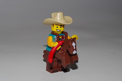 Hi Ho Silver Away ! (kingkong21) Tags: lego series18 cowboy