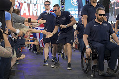 180602-D-DB155-042 (DoD News Photos) Tags: dodwg18 2018dodwarriorgames dodwarriorgames warriorgames woundedwarriors colorado coloradosprings dedication triumph overcomingadversity fortitude sports track field airrifle marksmanship wheelchairbasketball sittingvolleyball powerlifting cycling bicycling archery swimming rowing indoorrowing unitedstates