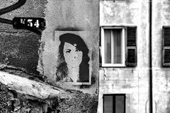 Genova Streets #1 [Explored 2018.06.11] (drugodragodiego) Tags: genova liguria italy street vicolo streetart streetlife blackandwhite blackwhite bw biancoenero pentax pentaxk1 k1 pentaxdfa2470mmf28 hdpentaxdfa2470mmf28edsdmwr architecture explored