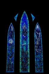 Roadtrip in Scotland (Fla(v)ie) Tags: scotland écosse glasgow church église stainedglasswindow vitrail bleu blue green vert cathedral cathedrale saintmungoscathedral