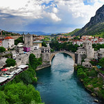 Mostar, View from the Minaret thumbnail