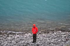 Red, blue and grey (charlottehbest) Tags: charlottehbest september 2017 honeymoon scandinavia theadventuresofhenryjruffington roadtrip lake vågåvatnet