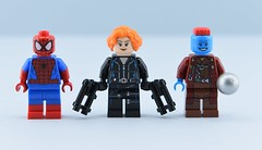 Marvel minifigs #3 : That was better before ? (Alex THELEGOFAN) Tags: lego legography minifigure minifigures minifig minifigurine minifigs minifigurines marvel yondu black widow spidey spiderman super heroes spider man guns guardians of the galaxy avengers age ultron classic