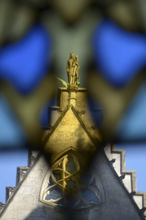 Vitrail du château de Pierrefonds