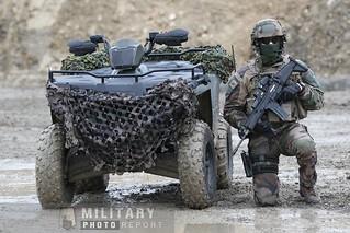Eurosatory : démonstration dynamique des forces spéciales