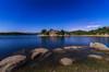 Caminito hacia el agua. (Amparo Hervella) Tags: embalsedelburguillo ávila españa spain noche nocturna naturaleza estrella agua reflejo largaexposición d7000 nikon nikond7000