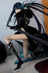 DSC_3322 (Quantum Stalker) Tags: medicom rah real action heroes black rock shooter anime girl vinyl sword gun cannon ova articulated scale figure