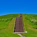 Steps to Monks Mound -- Cahokia Mounds State Historic Site Near Collinsville (IL) June 2018