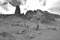 old man of storr isle of skye (carolinewright32) Tags: rocks old man storr isle skye scotland walkers