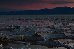Badwater Basin (Glenn Guinita) Tags: sunset water salt desert canon mojavedesert badwaterbasin deathvalley nps nature nationalparks california travel vacation destination lake