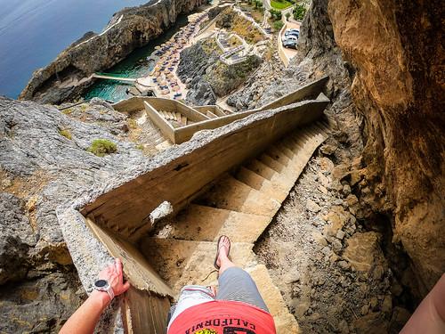 Steps Crete landscape