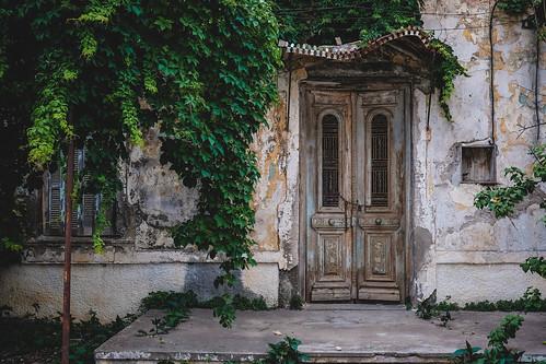 Greece crete doors