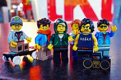Boys Night Out (Gary Burke.) Tags: legofigures minifigures toy legominifigures toys toyphotography legophotography legobricks sony a6300 mirrorless sonya6300 macro timessquare streetphotography nycstreets citystreets street nyc ny manhattan midtown newyorkcity newyork klingon65 gothamist garyburke ilovenyc newyorklife nycdetails citylife iloveny cityliving ilovenewyork travel nyctravel city iheartnewyork urban tourism urbanphotography touristattraction wanderlust traveling theaterdistrict outdoor details citystyle lego tgif nightphotography friday night weekend nightlife pals buddies friends boys guys