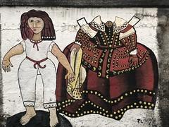 Las Meninas recortables - turismo industrial en Ferrol (Turiskopio) Tags: meninas ferrol galicia turismo industrial streetart arte