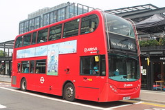 Arriva London: T163 LJ60AVO Alexander Dennis Enviro 400 (emdjt42) Tags: lj60avo t163 alexanderdennis enviro400 croydon eastcroydon arriva arrivalondon