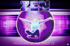 TRAVELING AT THE SPEED OF...ZEN © Cody Jacobson-ZEN MOUNTAIN MEDIA all rights reserved (codyjacobson@zenmountainmedia.com) Tags: traveling at the speed ofzen zen mountain logo tshirt poster design photohsop digital art portfolio landscape photography graphic urban subway tube train city travel spiritual spirituality woman budhism mindfulness relaxation meditation stock images composite pink purple white mono mandala universe nebula typography fonts text picoftheday photo oregon 2018 exploringtheartofimagination zenmountainmediacom