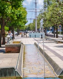 Fountain of Sidewalk