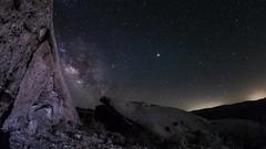 The Milky Way Rocks! A Real Short Anza-Borrego Desert Wind Caves Timelapse (slworking2) Tags: anzaborrego desert california sky night nighttime sandstone windcaves milkyway galaxy timelapse