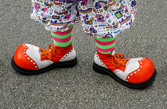 Clown Shoes (J Wells S) Tags: clownshoes dressup cosplay costume streetshot lebanonbluesfestivalandcarshow lebanon ohio