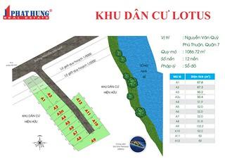 Cơ hội duy nhất đất sổ đỏ mặt tiền Nguyễn Văn Quỳ, Quận 7 giá chỉ 2.761 tỷ. LH 0902.747.696