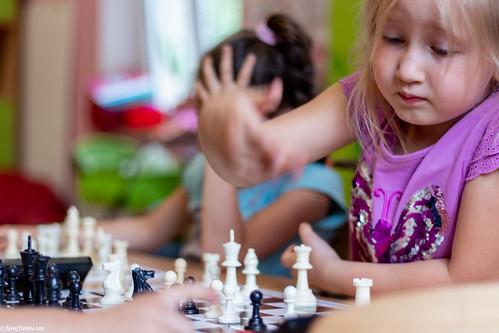 VIII Turniej Szachowy o Mistrzostwo Przedszkola Europejska Akademia Dziecka-27