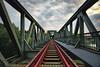 Eisenbahnbrücke (PhotoChampions) Tags: railway bridge eisenbahn brücke architecture architektur manmade urban steel heritage wolken clouds ilmenau winsen tönnhausen germany deutschland vanishingpoint fluchtpunkt