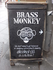 Alcohol Is A Solution Beer Advert Liverpool May 2018 (symonmreynolds) Tags: alcoholisasolution beer advert liverpool may 2018