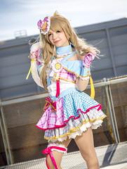 _MG_7338 (Mauro Petrolati) Tags: kotori minami laura libra cosplay cosplayer mini dress love live romics 2018