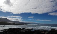 Spain Tenerife / Punta del Hidalgo (h_j.sauermann2021) Tags: 2017 20171215spainteneriffa spain tenerife teneriffa sun sonne holiday urlaub landscape landschaft light licht colours farben bright hell sky himmel blau blue meer sea puntadelhidalgo strand beach welle wave felsen rock