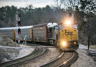 CSX Q238-17 at Wildwood, GA