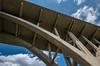 Under the Mendota Bridge (Highway 55), Fort Snelling State Park, (Tony Webster) Tags: fortsnelling fortsnellingstatepark highway55 mendota mendotabridge minnesota minnesotariver picnicisland bridge river spring