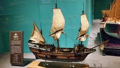 ChicSciMus_077_Mayflower (AgentADQ) Tags: chicago illinois museum science industry ship gallery ships model maritime mayflower english merchant sailing
