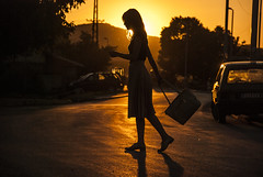 (stefan.pavic1) Tags: sun sunset goldenhour gold colors yellow silhoette street streetphoto photo photography