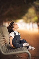 Thunderstruck (Pepe Córdoba) Tags: child childhood kid children baby bokeh nikon 85mm portrait