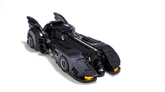 1989/1992 Batmobile (brickdater) Tags: lego creator batmobile batmissile batman batmanreturns burton keaton 1989