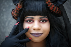 Saturday cosplayer at ExCeL London's MCM Comic Con, May 2018S (Gordon.A) Tags: london docklands londondocklands excel excellondon excellondonexhibitioncentre moviecomicmedia mcm con convention comicbookconvention comiccon mcmcomiccon mcmlondon comicconlondon comicconlondonexcel 2018 may2018 mcm2018 creative costume culture lifestyle style cosplay cosplayer cosplayportrait cosplayphotography festival event eventphotography amateur pose posed portrait portraitphotography streetportrait streetphotography colourportrait colourstreetportrait naturallight naturallightportrait canon eos 750d canoneos750d digital sigma sigma50100mmf18dc