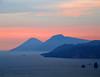 Old vulcanic islands (Robyn Hooz (away)) Tags: eolie tramonto lipari salina mare sicilia sud sunset mediterraneo vulcani islands