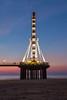The Ferry Wheel (karindebruin) Tags: nederland northsea scheveningen thenetherlands zonsondergang zuidholland beach clouds ferrywheel jetty pier reuzenrad strand sunset water wolken bluehour blauwuurtje